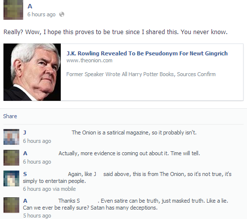 People Thinking The Onion Is Real On Facebook 11