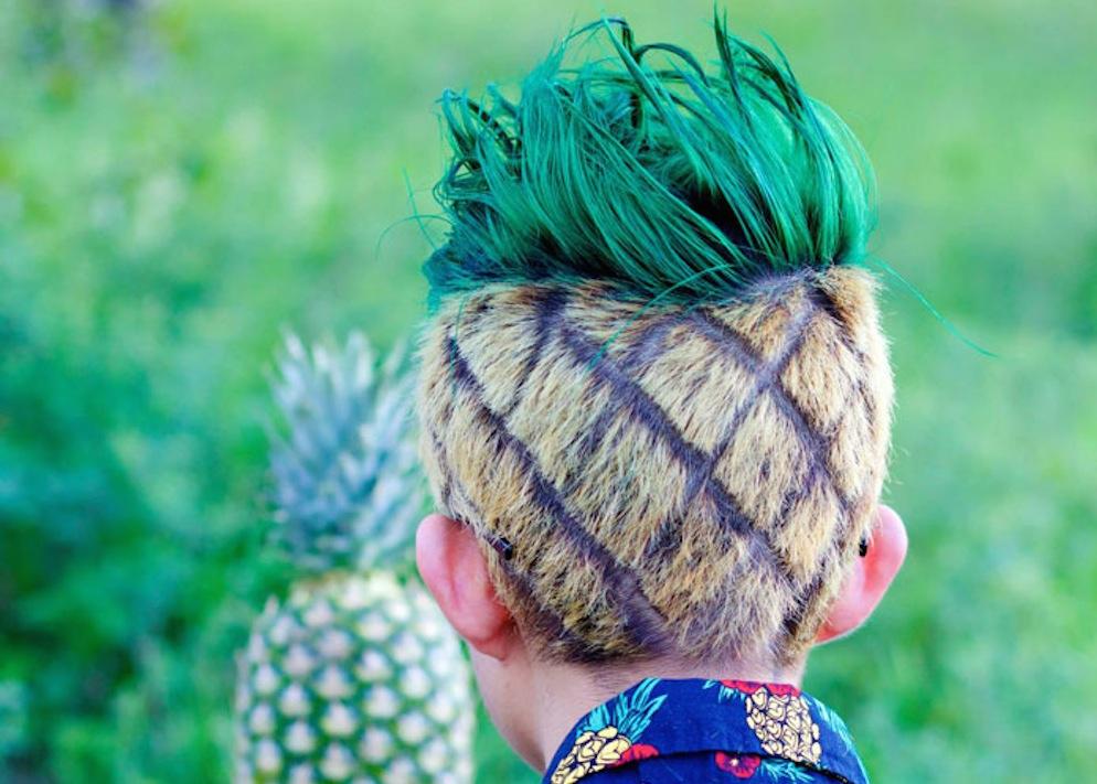 Pineapple Haircut 1
