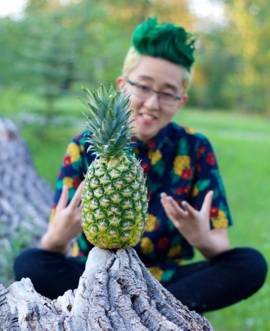 Pineapple Head 6
