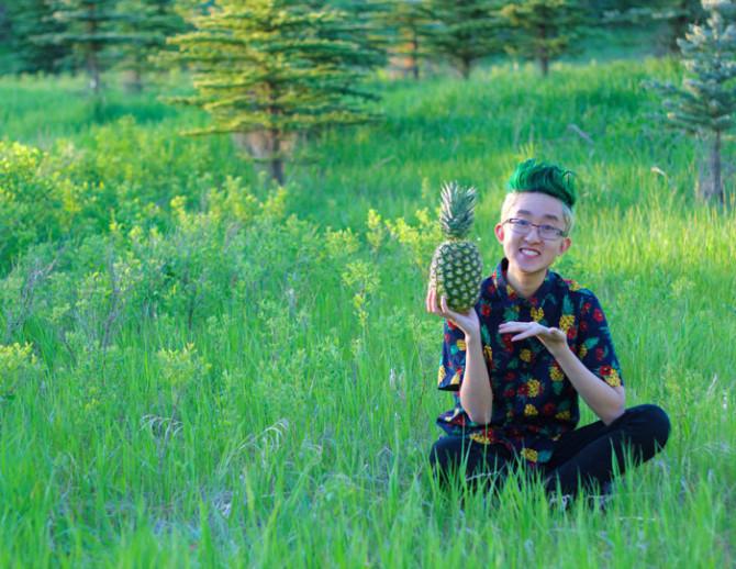 Pineapple Head 9