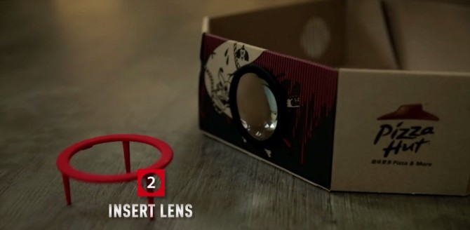 Pizza Hut Projector Box 2