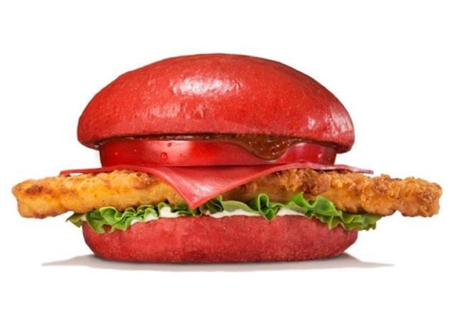 Red Chicken Burger