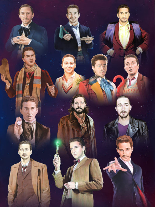 Shia LaBouef Doctor Who Montage