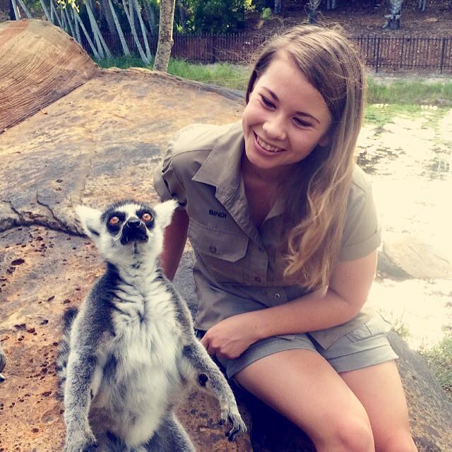 Steve Irwin's Daughter 10