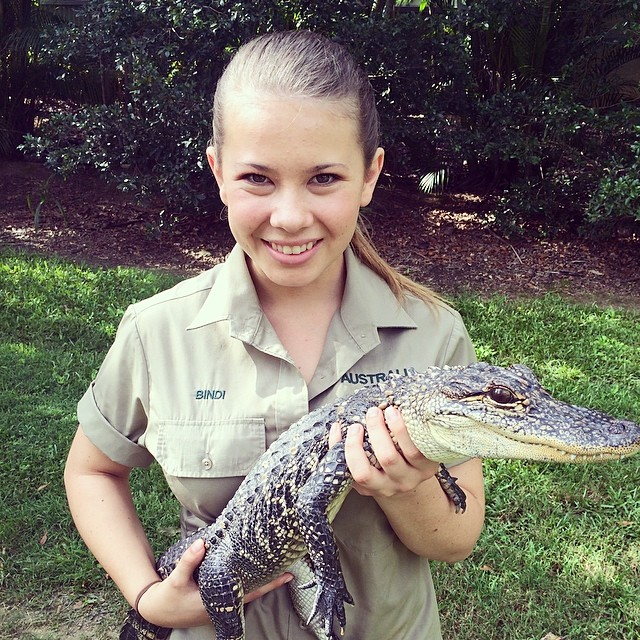 Steve Irwin's Daughter 2