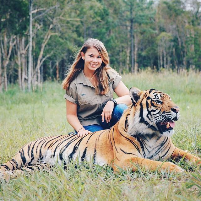 Steve Irwin's Daughter 4