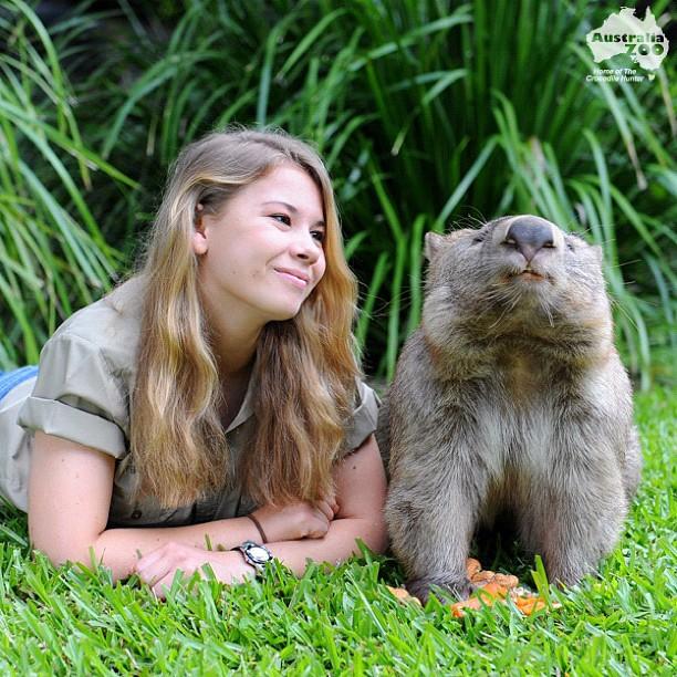 Steve Irwin's Daughter 6