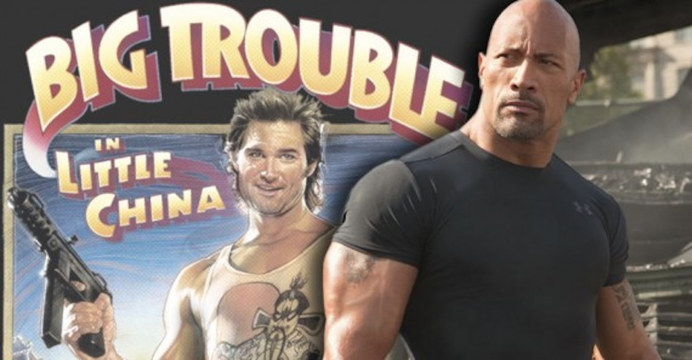The Rock Big Trouble Little China