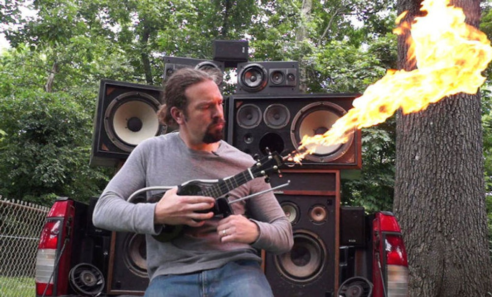 Ukelele Flamethrower