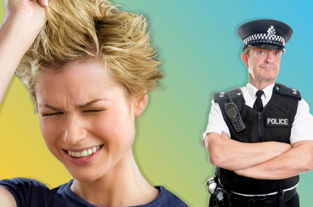 Woman Calls 999 Bad Haircut