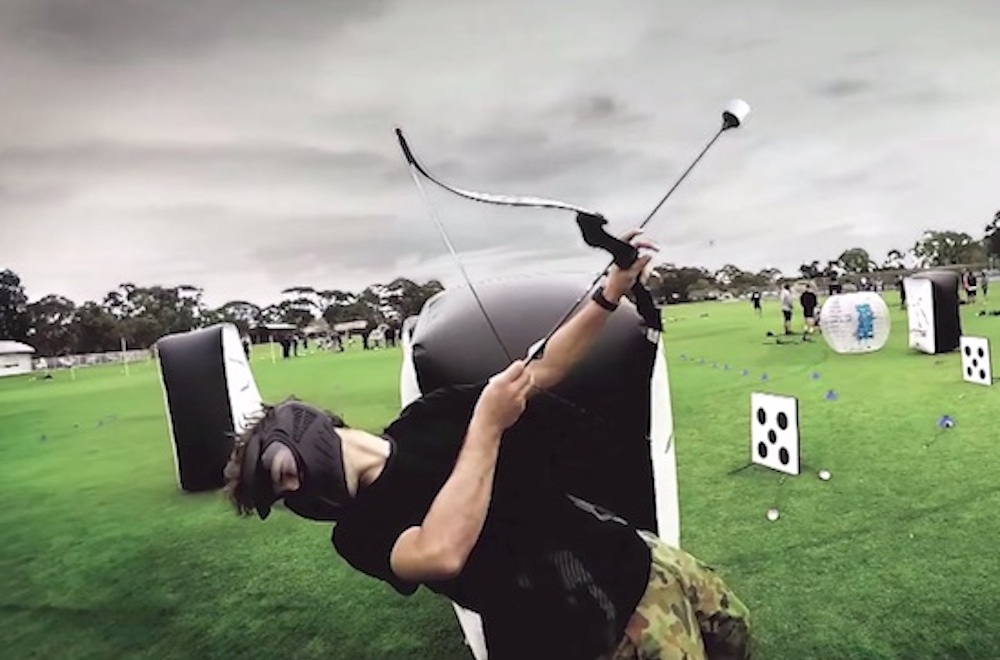 Check Out Archery Tag A New Game That Combines Archery Paintball And Dodgeball Sick Chirpse