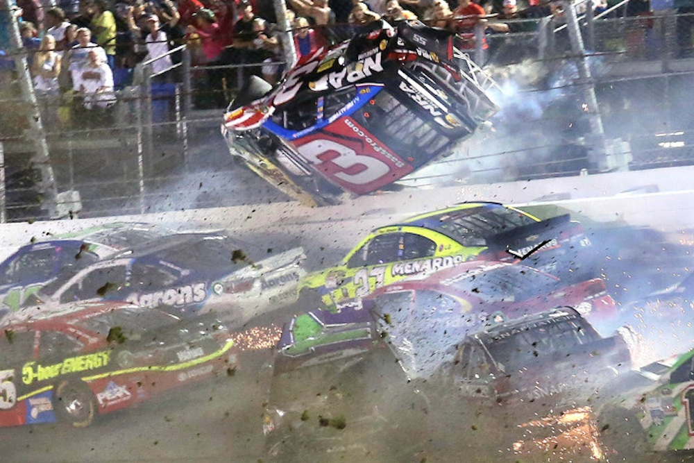 Austin Dillon NASCAR crash