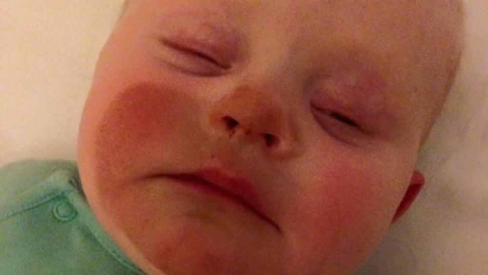 Baby Fake Tan Breast Feeding