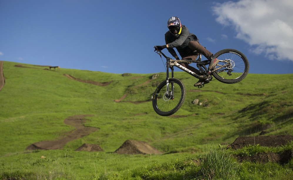 Brandon Semenuk Mountain Biking