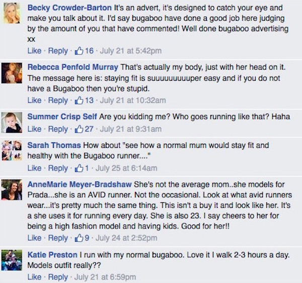 Bugaboo Ad Comments 3