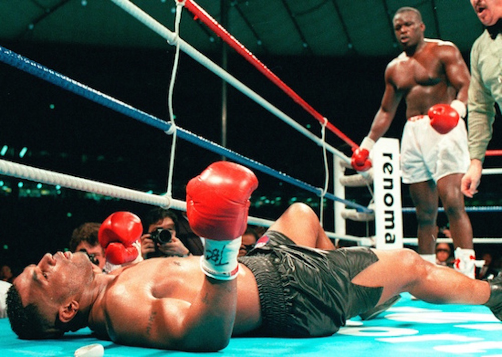 Buster Douglas Knocks Out Mike Tyson