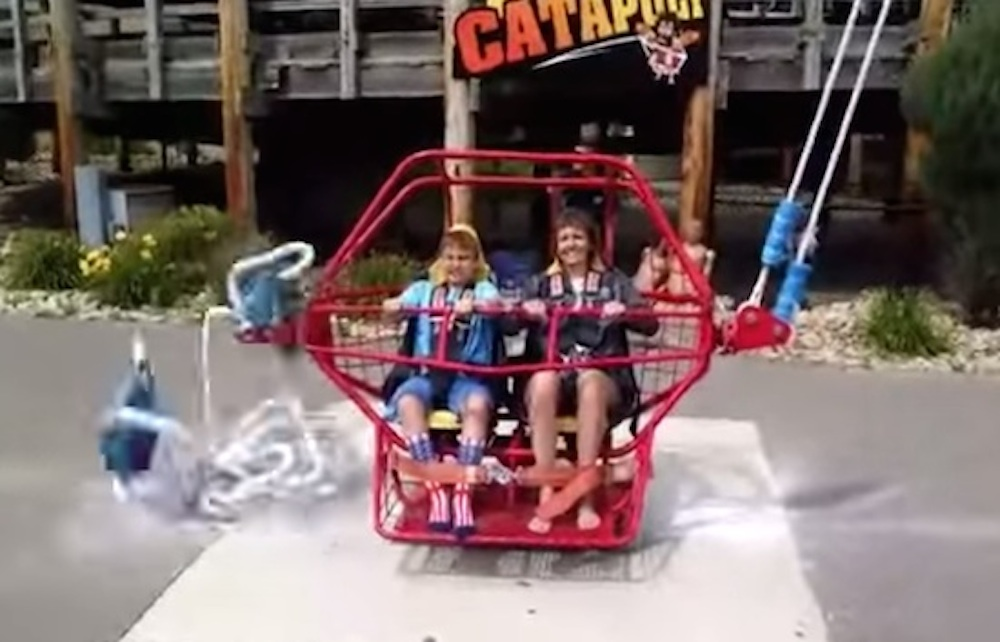 Catapult Ride Cables Snap