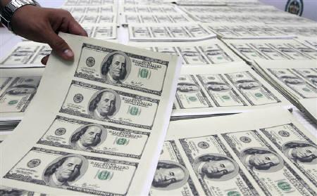 Counterfeit American Dollars