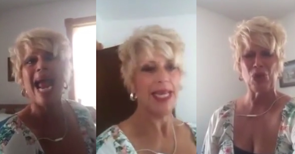 Crazy Christian Woman Same Sex Rant