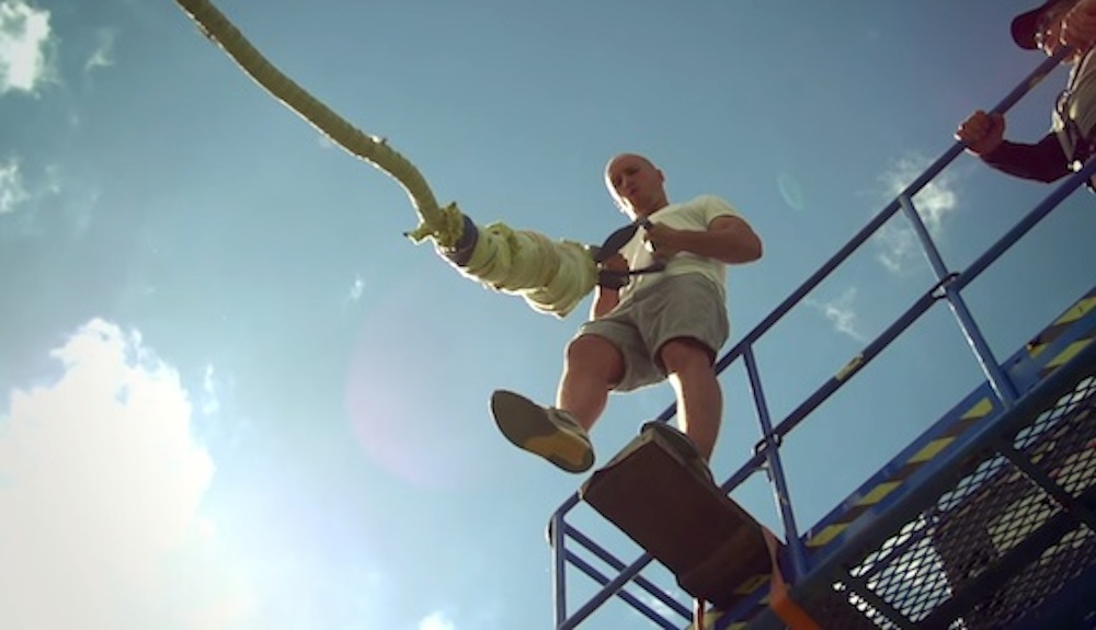 Damien Walters Hold And Release Bungee Jump