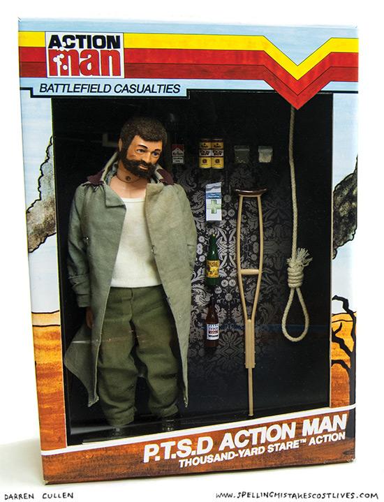 Darren Cullen - Action Man Battlefield Casualty 1a
