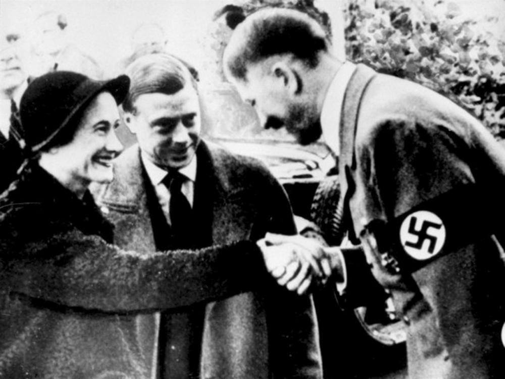 Edward VIII and Hitler Meet