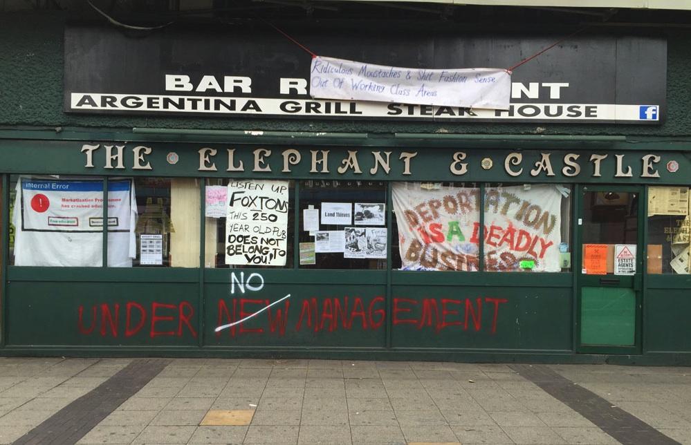 Elephant & Castle Foxtons Pub