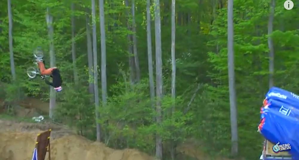 First Ever Quadruple BMX Backflip