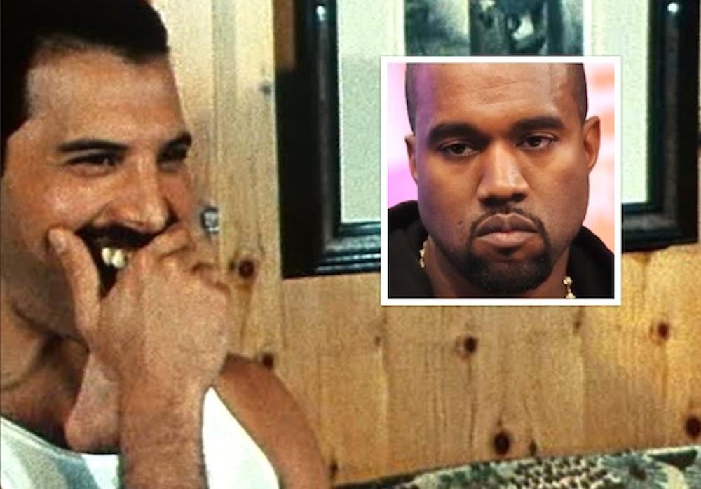 Freddy Mercury Kanye West