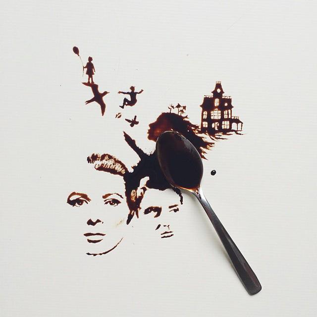 Giulia Bernardelli - Coffee Art - Black Art