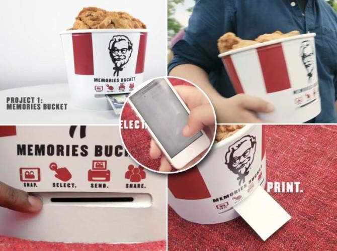 KFC Bucket Bluetooth