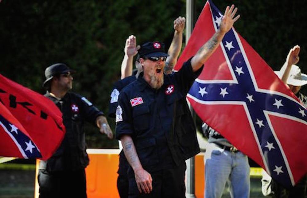 KKK Protestors