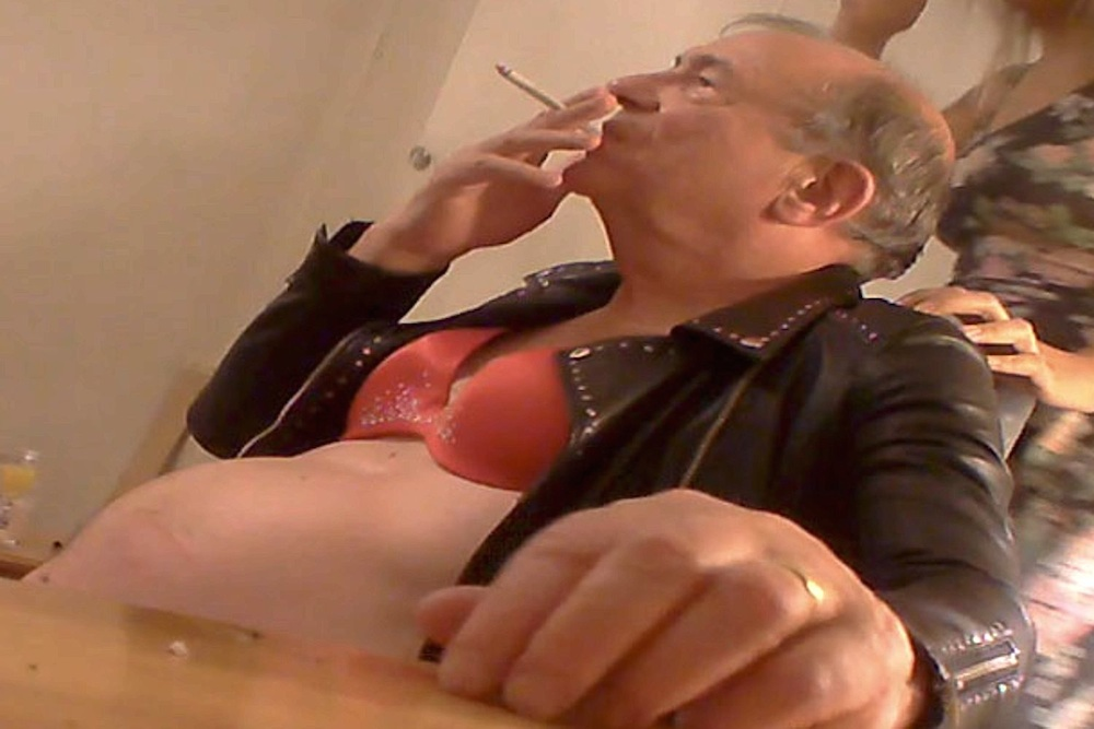 Lord Sewel Bra And Leather Jacket