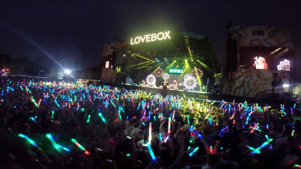 Lovebox Festival - Glow Stick Posse