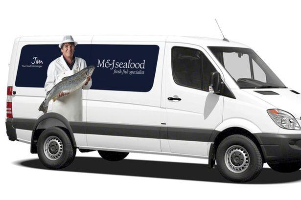 M & J Seafood Van