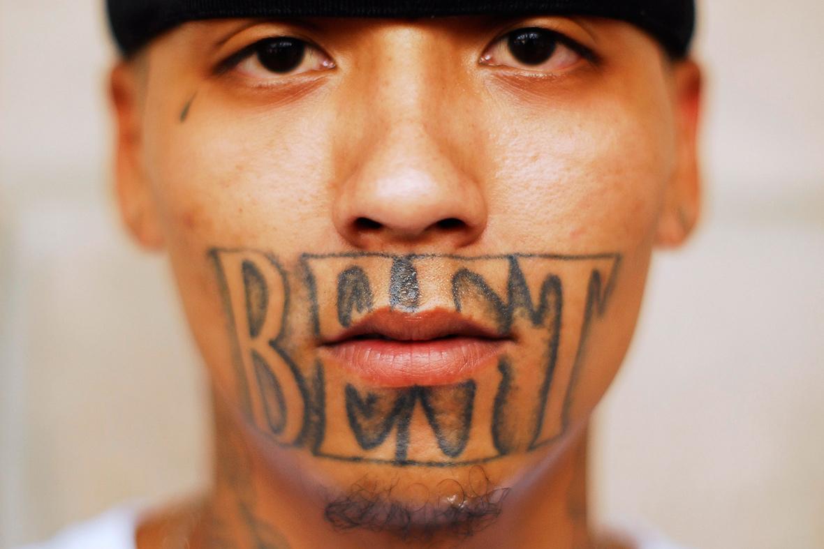 MS 13 El Salvador - Facial Tattoo 3