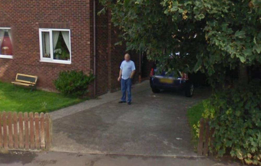 Man Busted Smoking On Google Street View