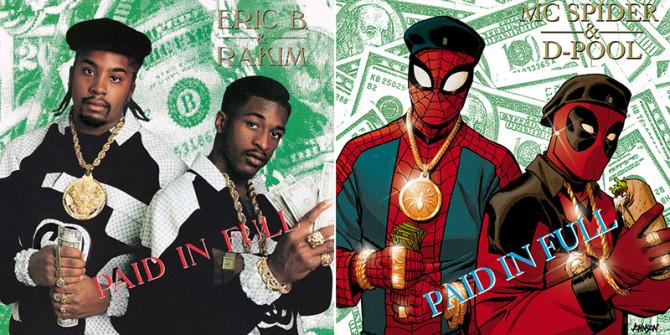 Marvel Comics Hip Hop Album Covers 1