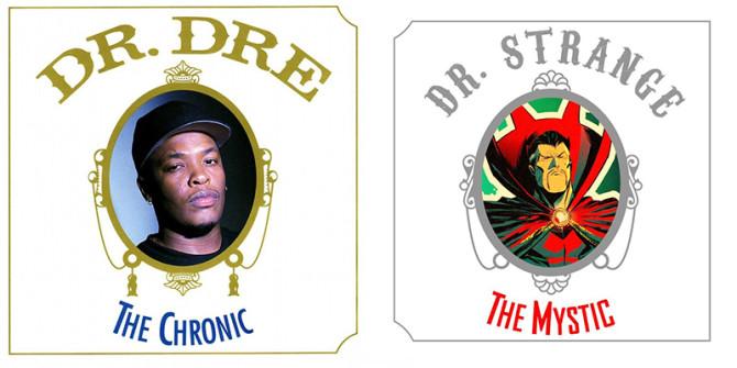 Marvel Comics Hip Hop Album Covers 10
