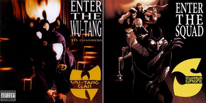 Marvel Comics Hip Hop Album Covers 3
