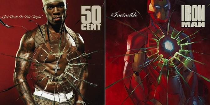 Marvel Comics Hip Hop Album Covers 7