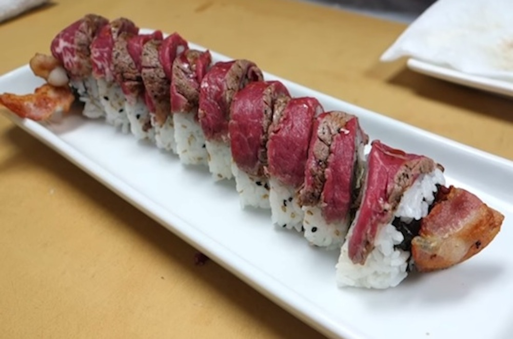 Meat Lover's Sushi Roll