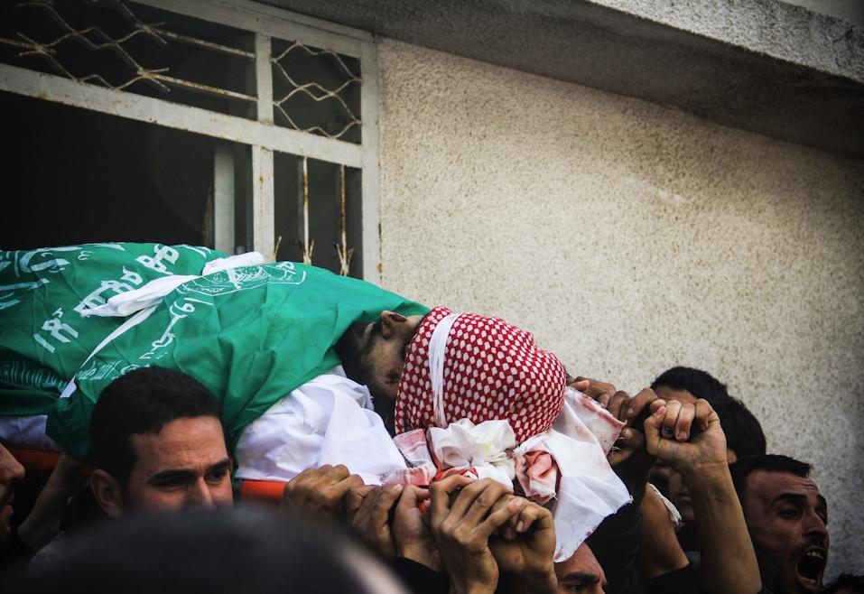 Mosa'ab Elshamy - 1 Palestine Funeral