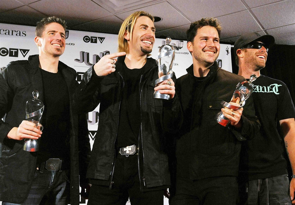 Nickelback Best Band In The World - Awards