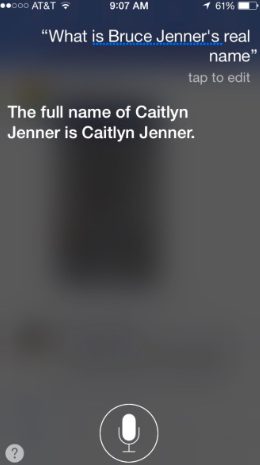 Siri Jenner Correction