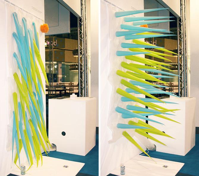 Spiky Shower Curtain 1