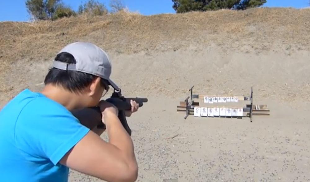 Star Spangled Banner Rifle