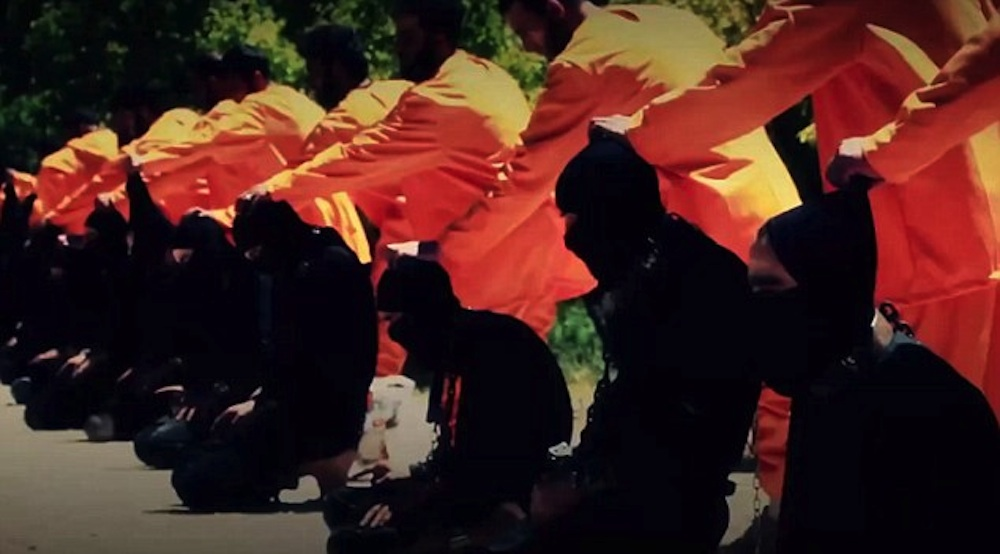Syrian Terror Group Executes ISIS Members