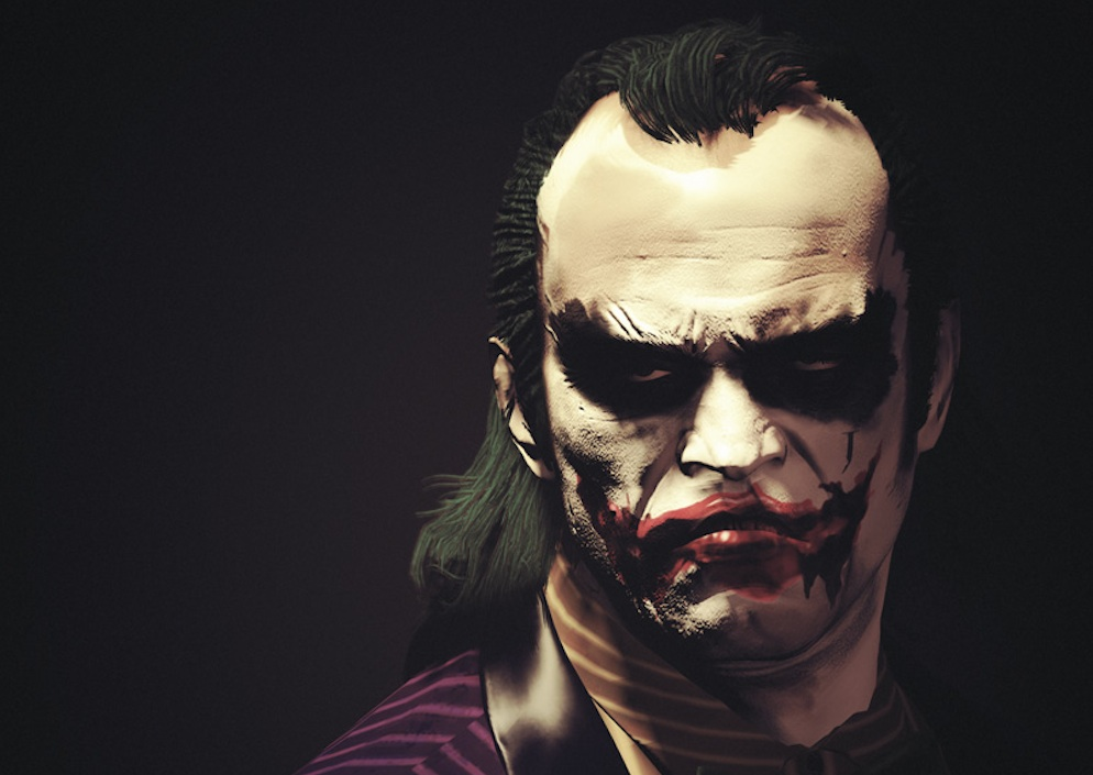 Trevor GTA V The Joker