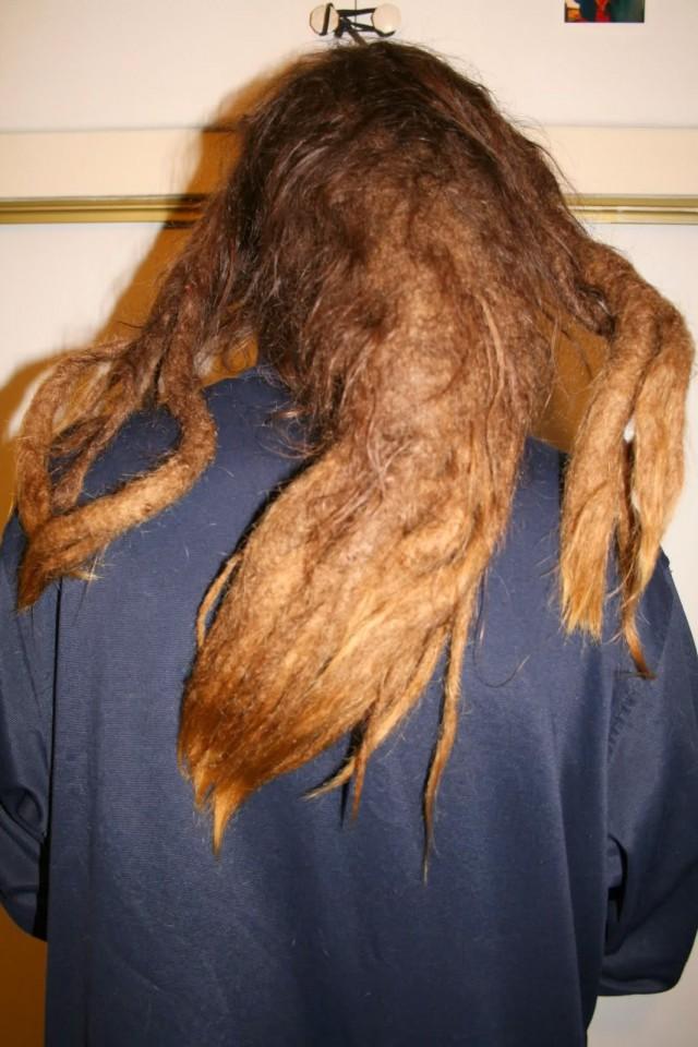 Worst Hair Cut - Mono Dread 12